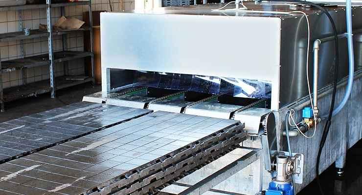Automatiseret rengøring med lavtryksdyser