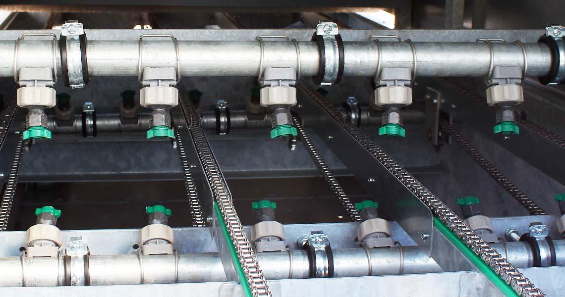 Automatiseret rengøring med lavtryksdyser hos Mørch Teknik