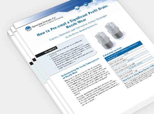 Download guide til vedligeholdelse af dyser